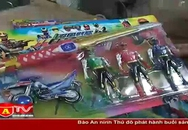 Thu giữ 3000 sản phẩm đồ chơi không rõ nguồn gốc xuất xứ